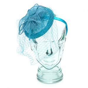 Aqua Anastasia Fascinator - for women