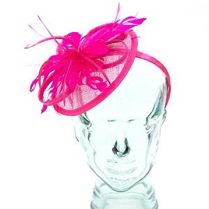 Pink Rose Eve Fascinator - for women