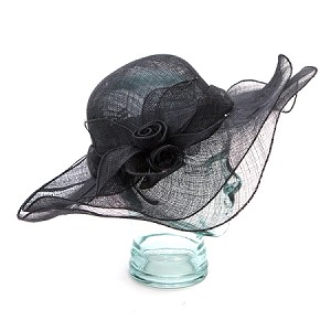 Black Hilda Hat - for women