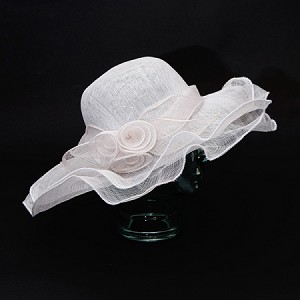 White Hilda Hat - for women