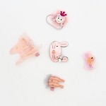 Pink Adelia Hair clip - for kids only