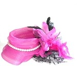 Fuschia Amanda Fascinator - for women