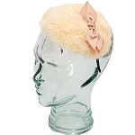 Cream Audry Topi - for teens and women