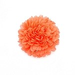Salmon Auset Hair Clip - for all ages