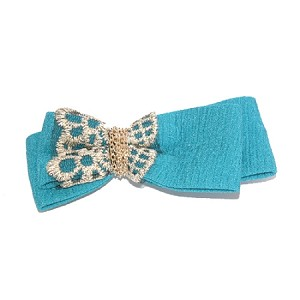 Sea Blue Ava Hair Clip - for all ages