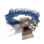 Blue Belle Baby Headband - for 0-6 months