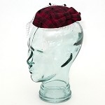 Wine Belinda Fascinator - for women