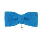 Sea Blue Bowe Hair Clip - for girls and boys