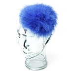 Royal Blue Caroline Fascinator - for teens and women