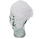 White Caroline Fascinator - for teens and women