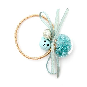 Turquoise Charlie Ponytail Holders - for all ages