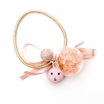 Pink Charlie Ponytail Holders - for all ages