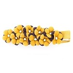 Goldenrod Ella Hair Clip - for all ages