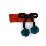Burnt Orange Estella Hairclip - for girls
