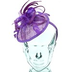 Purple Eve Fascinator - for women