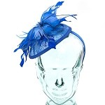 Royal Blue Eve Fascinator - for women