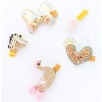 Gold Lena Hair clip - for kids only
