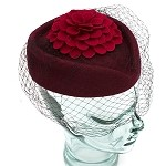 Wine Hazel Hat - for women