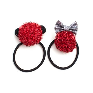Ruby He and She Pigtail Holders - for all kids
