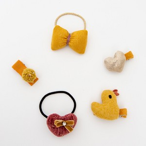 Yellow Ilara Hair clip - for kids only