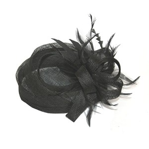 Black Irene Hat - for women