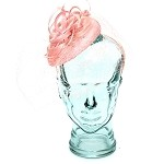 Pink Janice Fascinator - for women
