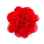 Red Rose Josette Hair Clip - for all ages