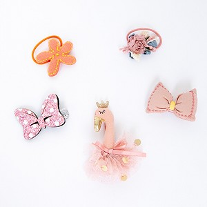 Pink Juliet Hair clip - for kids only