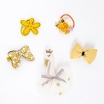 Yellow Juliet Hair clip - for kids only