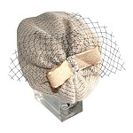 Ivory Pearl Keiko Topi - for teens and women