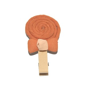 Caramel Lolli Hair Clip - for girls
