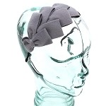 Sea Gray Lory Headband - for all ages