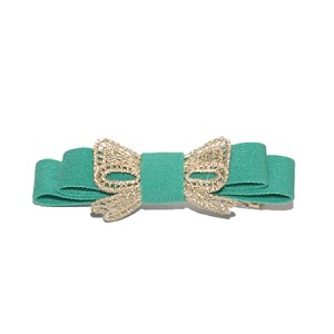 Moss Green Lucy Hair Clip - for girls
