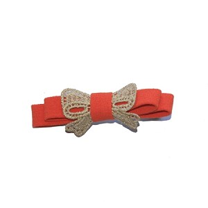 Orange Lucy Hair Clip - for girls