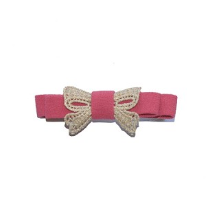 Raspberry Lucy Hair Clip - for girls