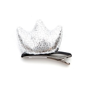 Silver Lulu Hair Clip - for kids