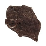 Brown Mandy Elastic Headband - for women and teens