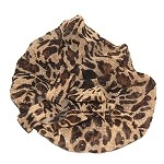 Leopard Mandy Elastic Headband - for women and teens