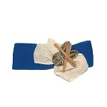 Sea Blue Maple Hair Clip - for girls