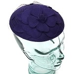 Purple Pansy Meg Hat - for women