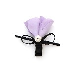 Lavender Melissa Hair Clip - for all ages