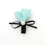 Robin's Egg Blue Melissa Hair Clip - for all ages