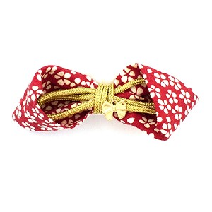 Carmine Red Miki Hair Clip - for all ages