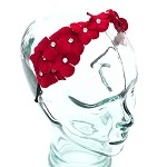 Scarlet Nadia Headband - for all ages