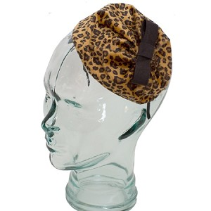 Leopard Nahla Topi - for teens and women