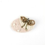 Powder Pink Nona Hair Clip - for all ages