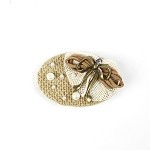 Taupe Nona Hair Clip - for all ages