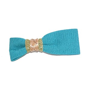 Sea Blue Penny Hair Clip - for all ages