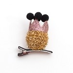 Gold Quinn Hair Clip - for all kids