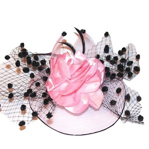 Pink Regine Fascinator - for women
